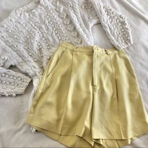 BANANA REPUBLIC/ silk trouser shorts
